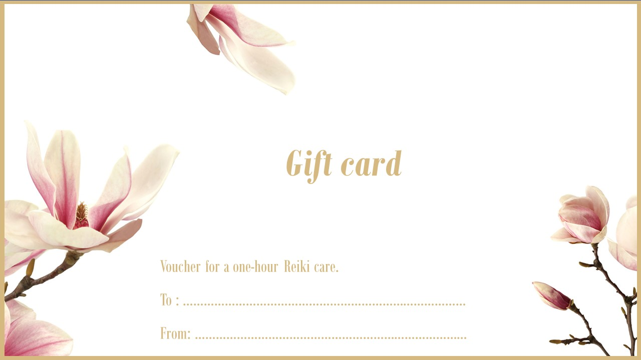 Gift Card Oui Reiki Luxembourg